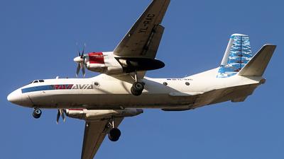 YL-RAC - Antonov An-26B - Raf-Avia Airlines