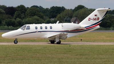 D-IAIB - Cessna 525 CitationJet 1 Plus - Private