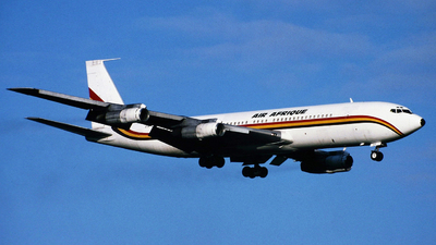 5X-JEF - Boeing 707-379C - Air Afrique (DAS Air Cargo)