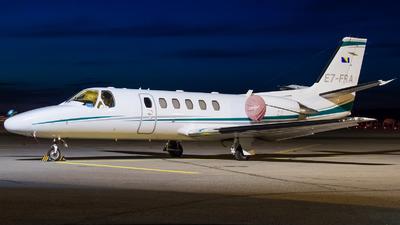 E7-FRA - Cessna 550B Citation Bravo - Private