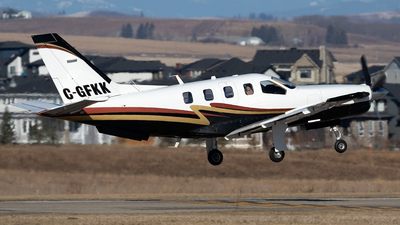 C-GFKK - Socata TBM-850 - Private