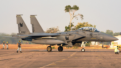 8312 - Boeing F-15SG Strike Eagle - Singapore - Air Force
