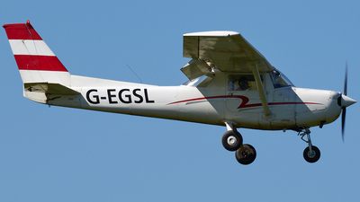 G-EGSL - Reims-Cessna F152 - Private