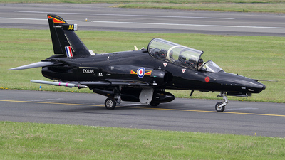 ZK036 - British Aerospace Hawk T.2 - United Kingdom - Royal Air Force (RAF)