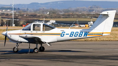 A picture of GBGBW - Piper PA38112 - [3878A0670] - © mark p