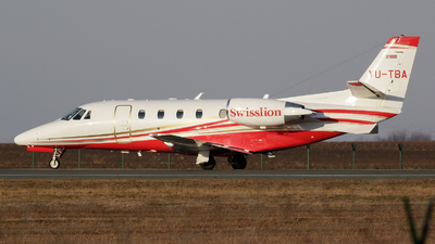 YU-TBA - Cessna 560XL Citation XLS+ - Air Swisslion