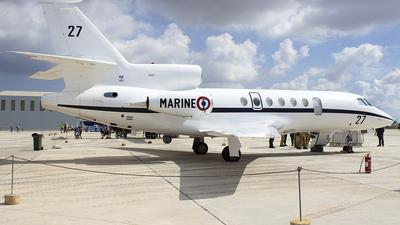 27 - Dassault Falcon 50 - France - Navy