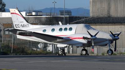 A picture of ECMHX - Beech C90 King Air - [LJ725] - © Paul Denton