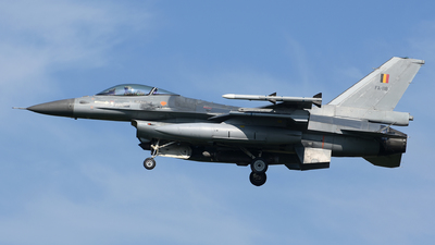 FA-118 - General Dynamics F-16AM Fighting Falcon - Belgium - Air Force