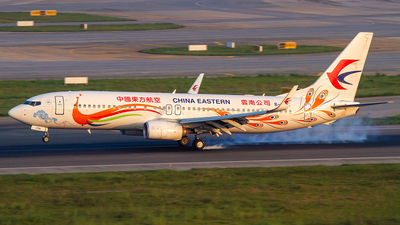 B-1791 - Boeing 737-89P - China Eastern Airlines