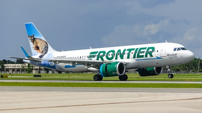 N365FR - Airbus A320-251N - Frontier Airlines