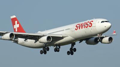 HB-JMI - Airbus A340-313X - Swiss