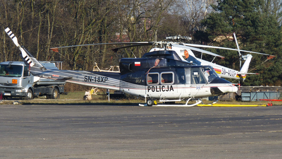 SN-18XP - Bell 412HP - Poland - Police