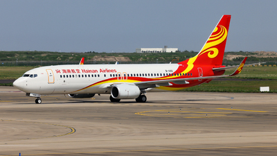 A picture of B1102 - Boeing 73784P - Hainan Airlines - © Jiaming