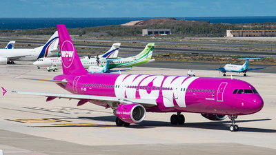 TF-KID - Airbus A321-211 - WOW Air