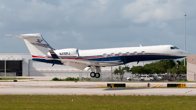 A picture of N416RJ - Gulfstream V -  - © Mark Lawrence