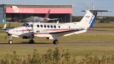 A picture of VHFDN - Beech B300 Super King Air 350C - [FM58] - © Brock L