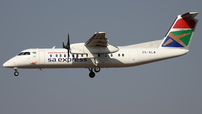 ZS-NLW - Bombardier Dash 8-311A - SA Express
