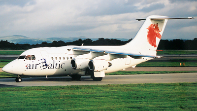 YL-BAN - British Aerospace Avro RJ70 - Air Baltic