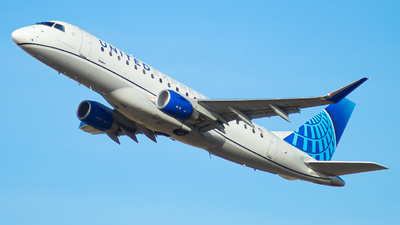 A picture of N607UX - Embraer E175LL - United Airlines - © Watts Brooks