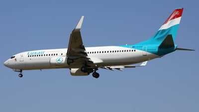 LX-LGT - Boeing 737-8K5 - Luxair - Luxembourg Airlines