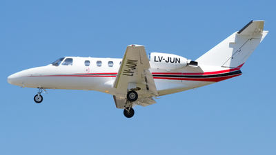 LV-JUN - Cessna 525 Citationjet CJ1 - Royal Class