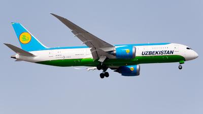 A picture of UK78703 - Boeing 7878 Dreamliner - Uzbekistan Airways - © Whiskey_Romeo_Aviation