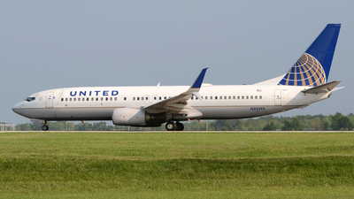 N33292 - Boeing 737-824 - United Airlines