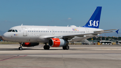 OY-KBR - Airbus A319-132 - Scandinavian Airlines (SAS)