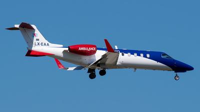 LX-EAA - Bombardier Learjet 45 - Luxembourg Air Rescue (LAR)