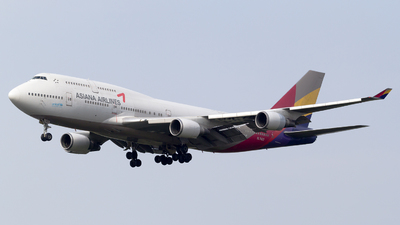 HL7423 - Boeing 747-48E(M) - Asiana Airlines