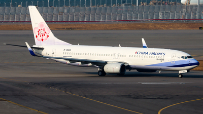 A picture of B18665 - Boeing 7378AL - China Airlines - © Chow Kin Hei - AHKGAP