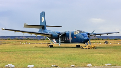 MSP002 - De Havilland Canada C-7A Caribou - Costa Rica - Ministry of Public Security