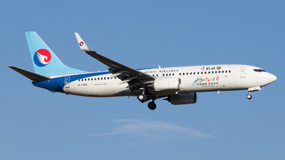 A picture of B1328 - Boeing 7378LW - Hebei Airlines - © liyang