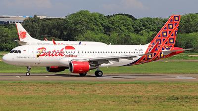 PK-LUM - Airbus A320-214 - Batik Air
