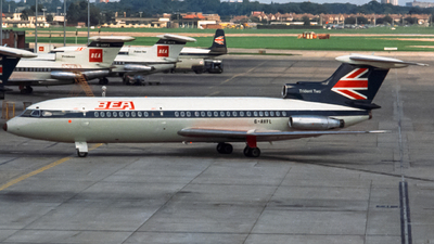 G-AVFL - Hawker Siddeley HS-121 Trident 2 - British European Airways (BEA)