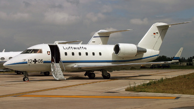 12-06 - Bombardier CL-600-2A12 Challenger 601 - Germany - Air Force