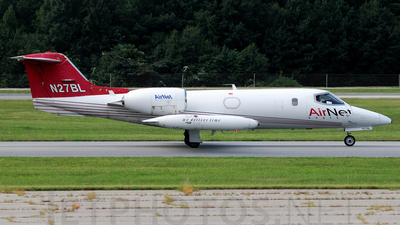 N27BL - Gates Learjet 35A - AirNet Systems