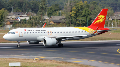 A picture of B1246 - Airbus A320251N - Capital Airlines - © diqin265