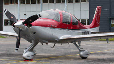 N117MX - Cirrus SR22T-GTS - Private
