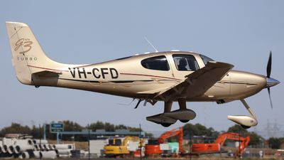 A picture of VHCFD - Cirrus SR22 - [2608] - © Victor Pody
