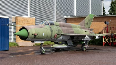 MG-135 - Mikoyan-Gurevich MiG-21bis Fishbed L - Finland - Air Force
