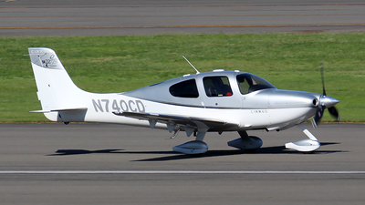 A picture of N740CD - Cirrus SR22 - [2336] - © Huy Do