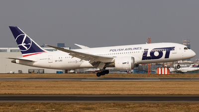SP-LRD - Boeing 787-8 Dreamliner - LOT Polish Airlines