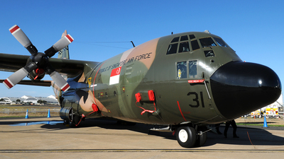 731 - Lockheed C-130H Hercules - Singapore - Air Force