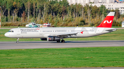 VQ-BRL - Airbus A321-231 - Nordwind Airlines