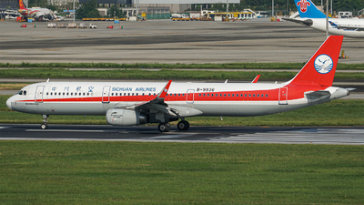 A picture of B9936 - Airbus A321231 - Sichuan Airlines - © ECO707