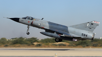 90-584 - Dassault Mirage 3EA - Pakistan - Air Force