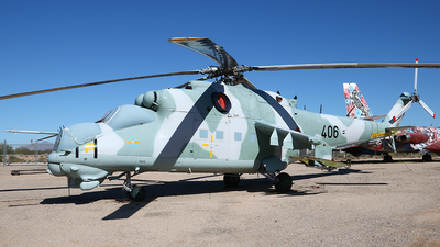 406 - Mil Mi-24D Hind D - German Democratic Republic - Air Force