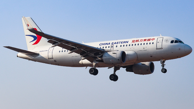 A picture of B8379 - Airbus A319115 - China Eastern Airlines - © AGUIJUN-Lei